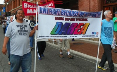 Detroit Retirees Vow to Fight on